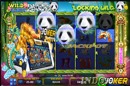 Wild Giant Panda Game Slot Joker123 Dengan Jackpot Wow